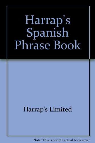 9780844299259: Harrap's Spanish Phrase Book