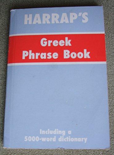 Harrap's Greek Language Phrase Book (0844299316) by Harrap's