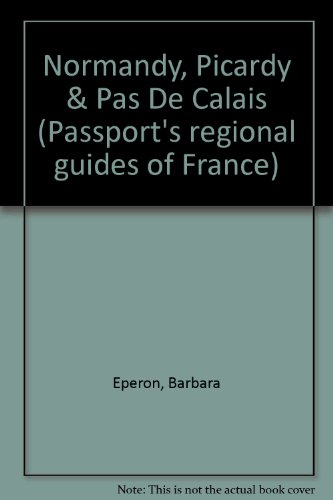 9780844299402: Normandy, Picardy and Pas De Calais (Serial)