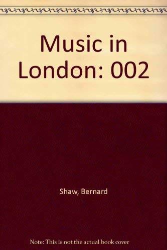 9780844300603: Music in London
