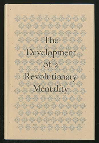 9780844400457: The development of a revolutionary mentality;: Papers