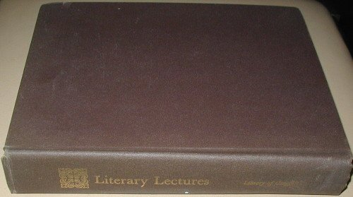 9780844400846: Literary lectures presented at the Library of Congress