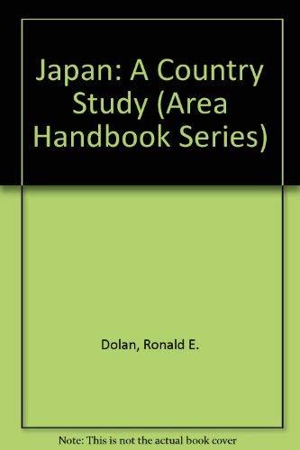 9780844407319: Japan: A Country Study (Area Handbook Series)