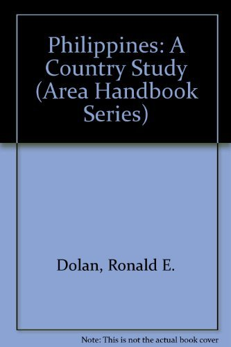 9780844407487: Philippines: A Country Study (AREA HANDBOOK SERIES)