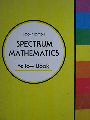 9780844513058: Spectrum Mathematics (Yellow Book)