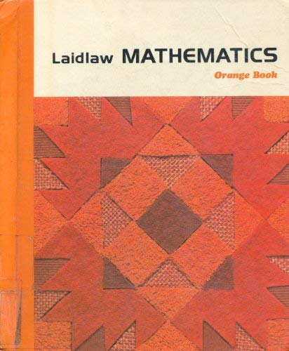 9780844513249: Laidlaw Mathematics: Orange Book