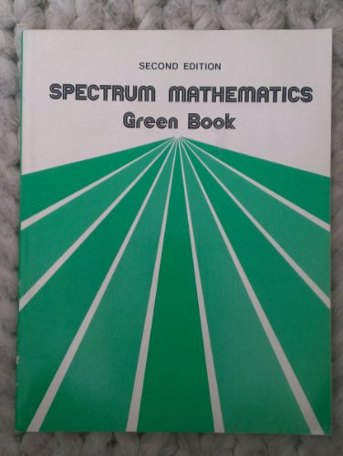 9780844513966: Spectrum Mathematics (Green Book)