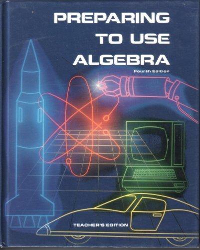 9780844518510: Preparing to use algebra