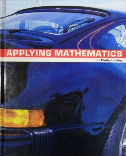 9780844518657: Applying Mathematics - In Daily Living