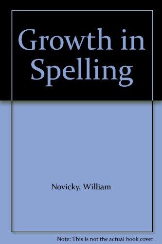 Growth in Spelling: William Novicky