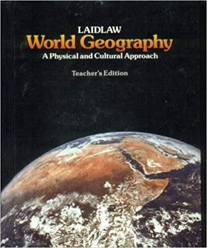 9780844566535: Laidlaw World Geography: A Physical and Cultural Approach (Teachersed)