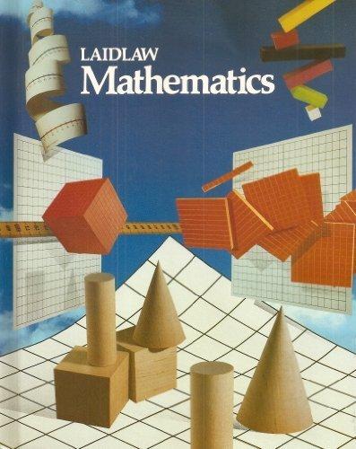 Laidlaw Mathematics Grade 6 (Series 2000): Vincent J Altamuro