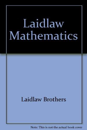 Laidlaw Mathematics Series 2000, Grade 8: Student
