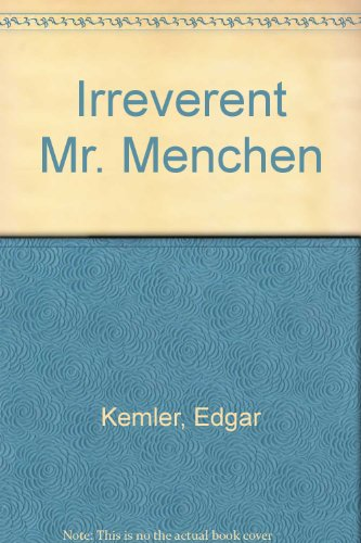 9780844601656: Irreverent Mr. Mencken