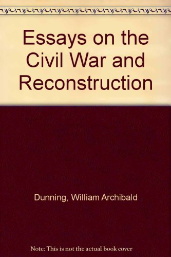 9780844606002: Essays on the Civil War and Reconstruction