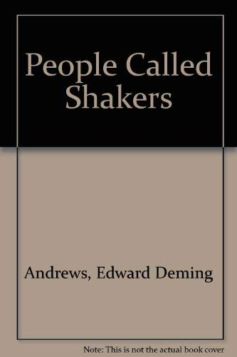 9780844615356: People Called Shakers