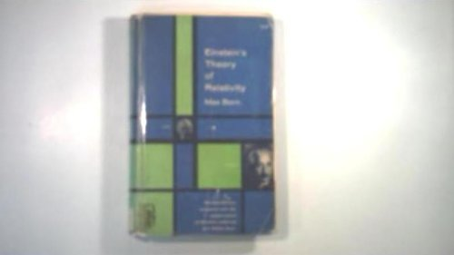 9780844617053: Einstein's Theory of Relativity