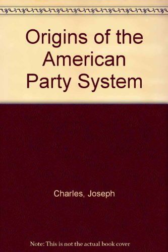 9780844618401: Origins of the American Party System