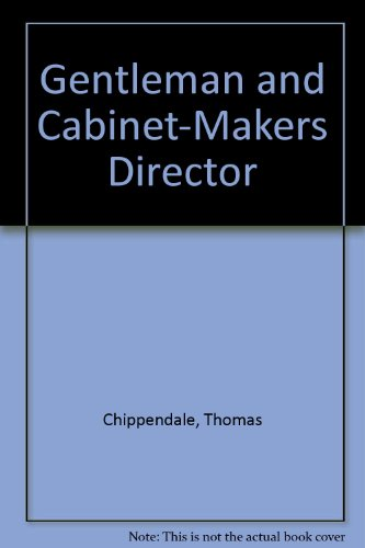 9780844618562: Gentleman and Cabinet-Makers Director