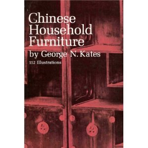 9780844623511: Chinese Household Furniture