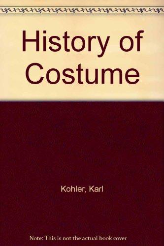 9780844623931: History of Costume