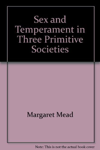 9780844625683: Sex and Temperament in Three Primitive Societies