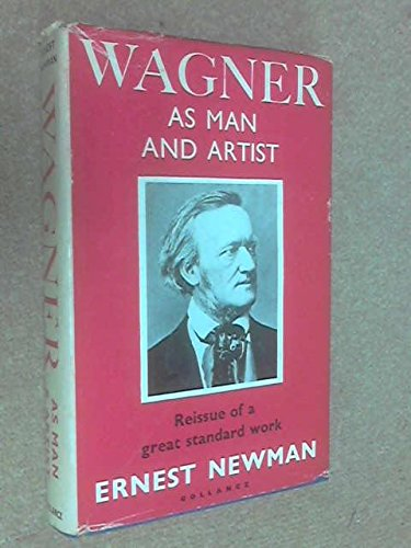9780844626536: Wagner As Man and Artist