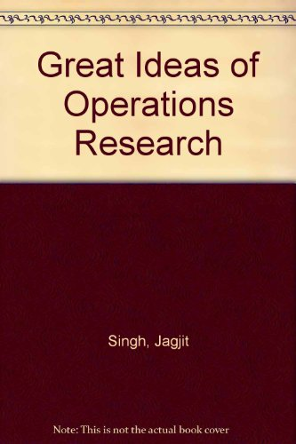 9780844629476: Great Ideas of Operations Research