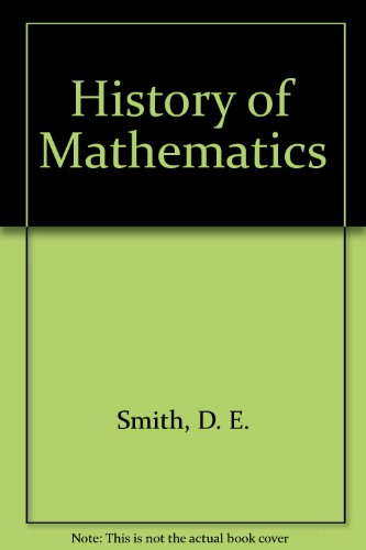 9780844629551: History of Mathematics