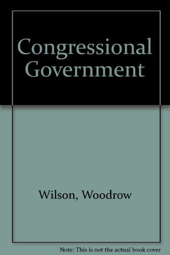 9780844631875: Congressional Government