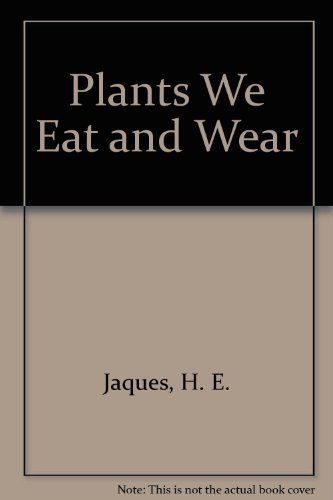 9780844652078: Plants We Eat and Wear