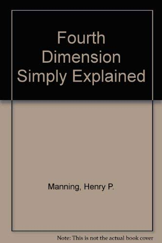 9780844652764: Fourth Dimension Simply Explained