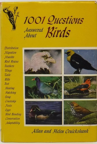 9780844654836: 1001 Questions Answered About Birds