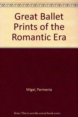9780844659053: Great Ballet Prints of the Romantic Era