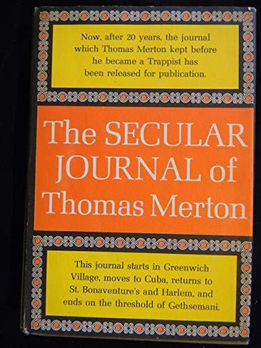 9780844659855: The Secular Journal of Thomas Merton