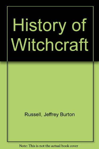 History of Witchcraft (0844660523) by Jeffrey Burton Russell