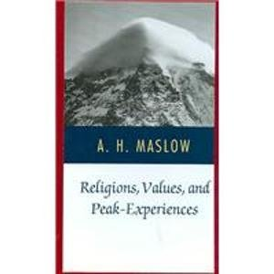 9780844660707: Religions: Values and Peak Experiences
