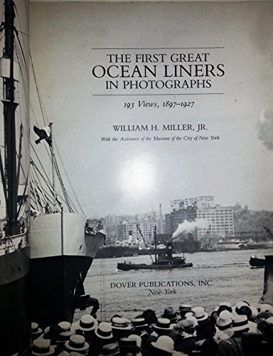 9780844661445: First Great Ocean Liners in Photographs