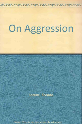 On Aggression (9780844662138) by Konrad Lorenz