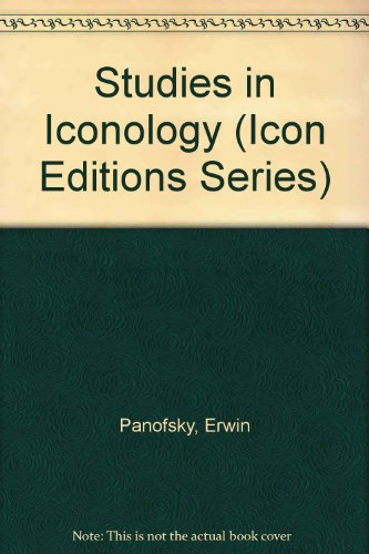 9780844666198: Studies in Iconology (Icon Editions Series)