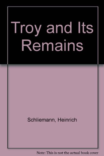 9780844668628: Troy & Its Remains