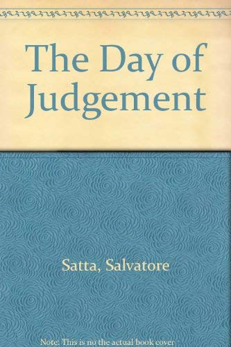 9780844668680: The Day of Judgement