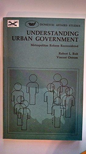9780844731209: Understanding Urban Government: Metropolitan Reform Reconsidered (Domestic Affairs Study 20)