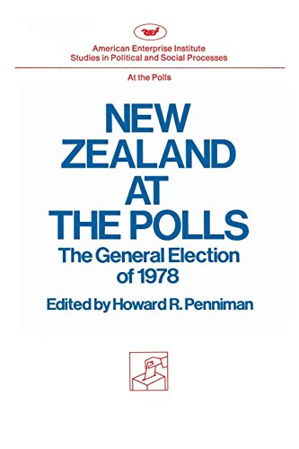 9780844733760: New Zealand at the Polls (Studies in political and social processes)