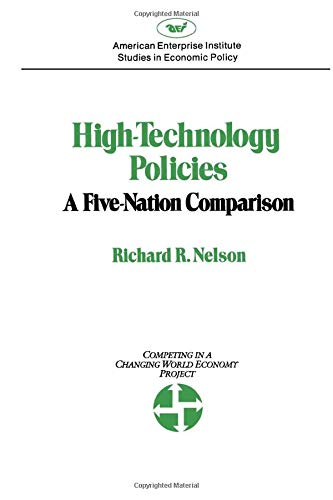 9780844735658: High-Technology Policies: A Five Nation Comparison