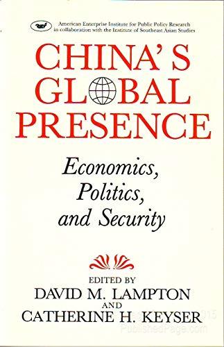 China's Global Presence: Economics, Politics and Security: Lampton, David M.