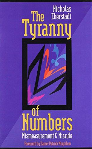9780844737638: The Tyranny of Numbers: Mismeasurement and Misrule (Aei Studies, 528)