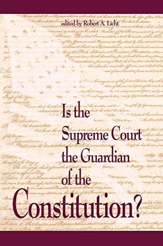 9780844738123: Is the Supreme Court the Guardian of the Constitution? (Rights Explosion)