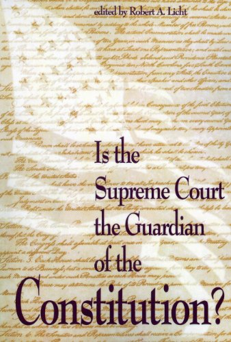 9780844738130: Is the Supreme Court the Guardian of the Constitution? (The Rights Explosion)
