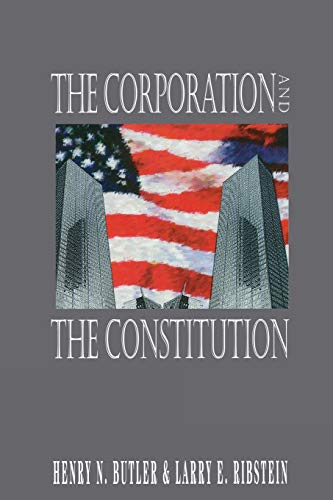 9780844738659: The Corporation and the Constitution
